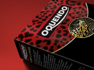 Packaging Design capsules for Oquendo coffee