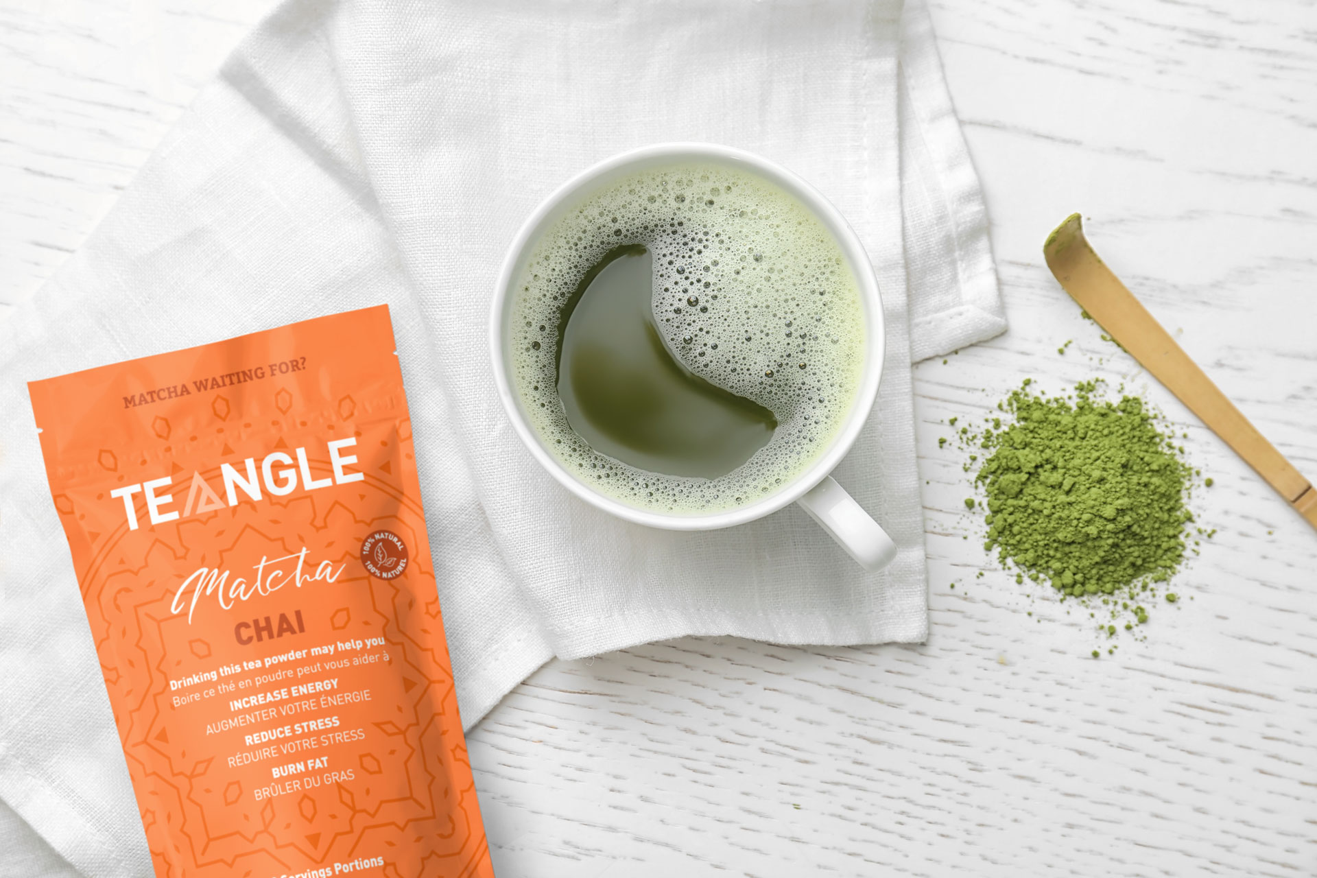 Packaging design Tea for Teangle brand