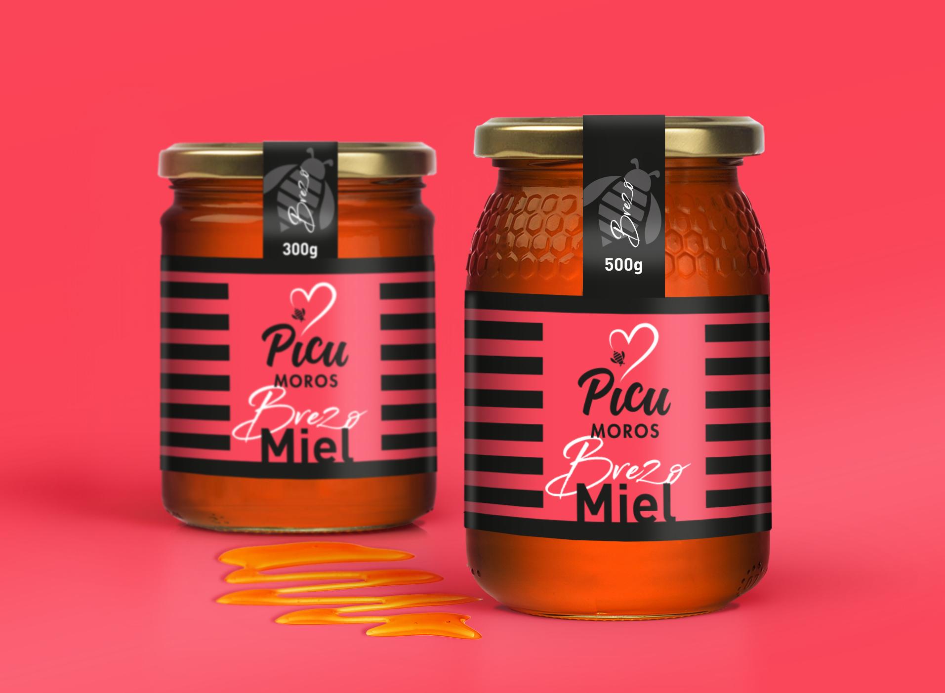 Design Packaging Honey