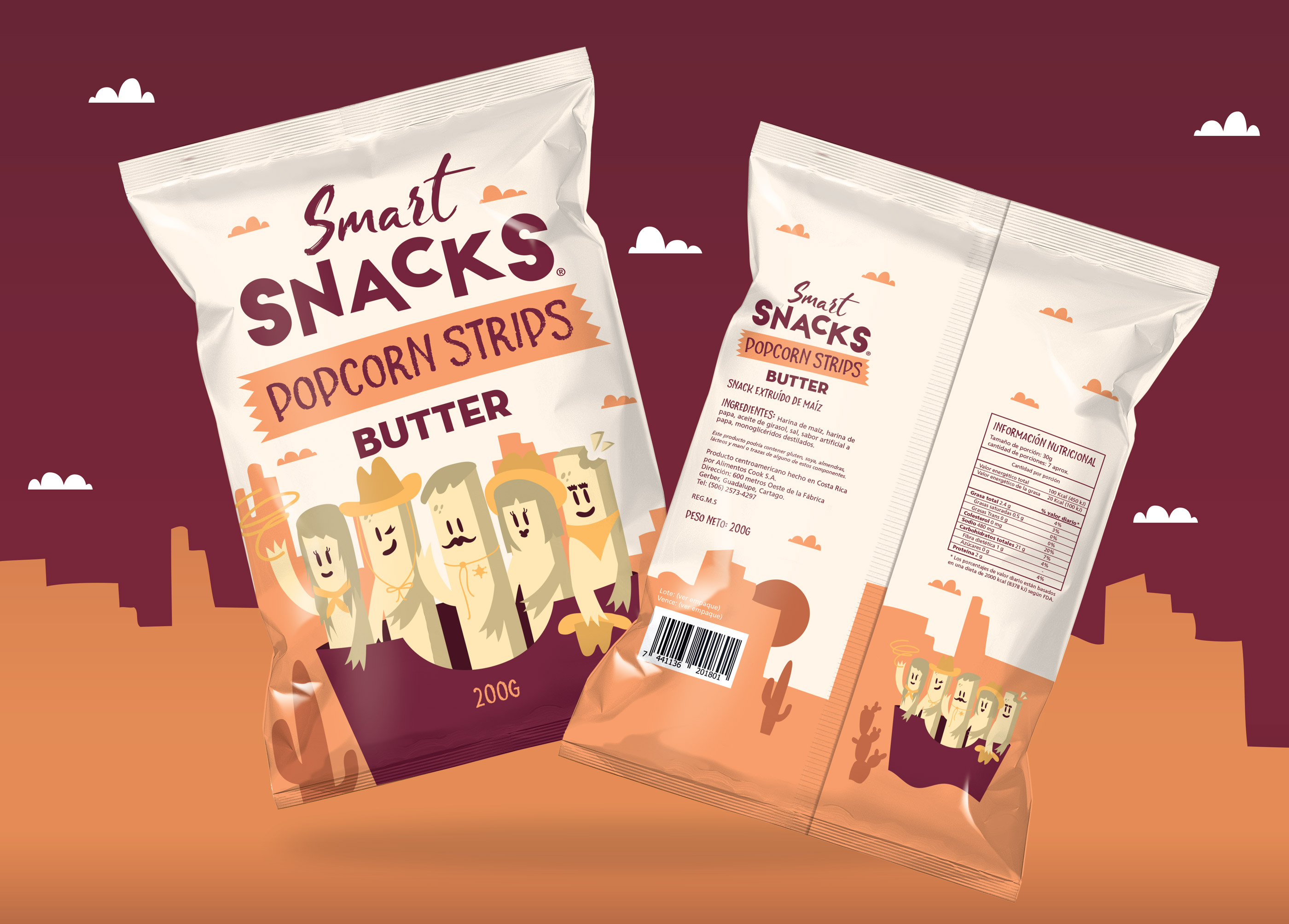 Packaging Design Snack