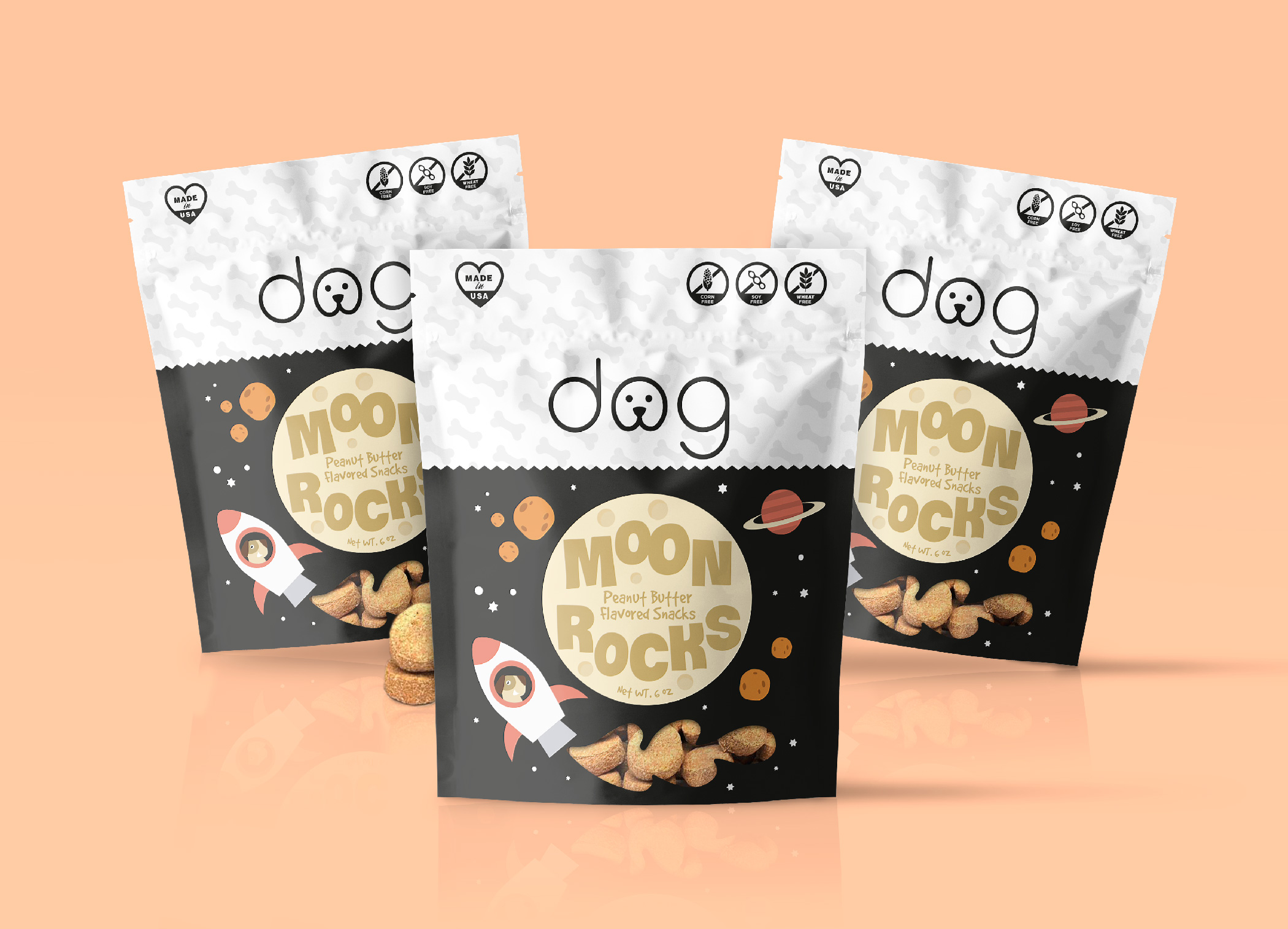 Packaging Design Dog food