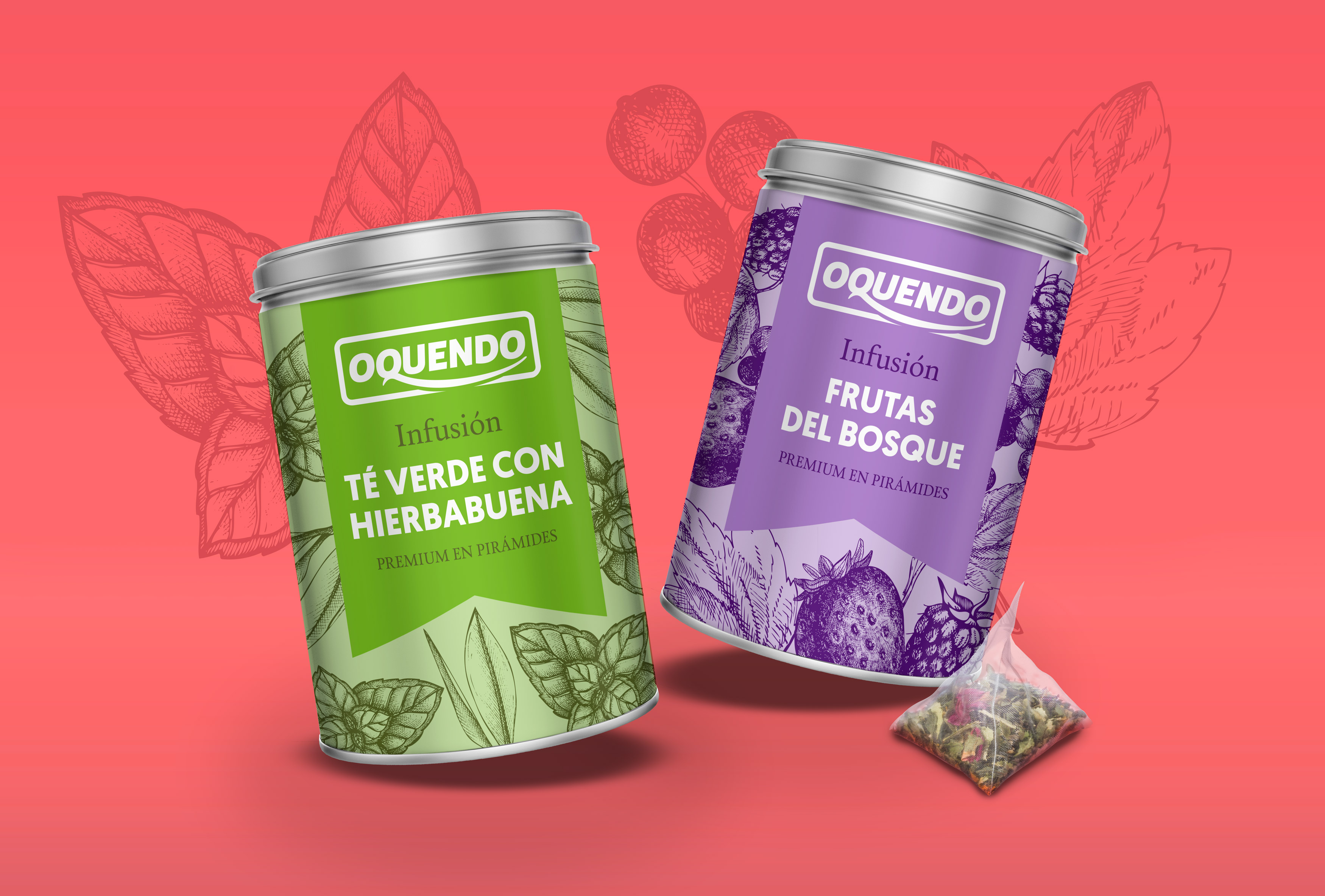 Diseño packaging tea