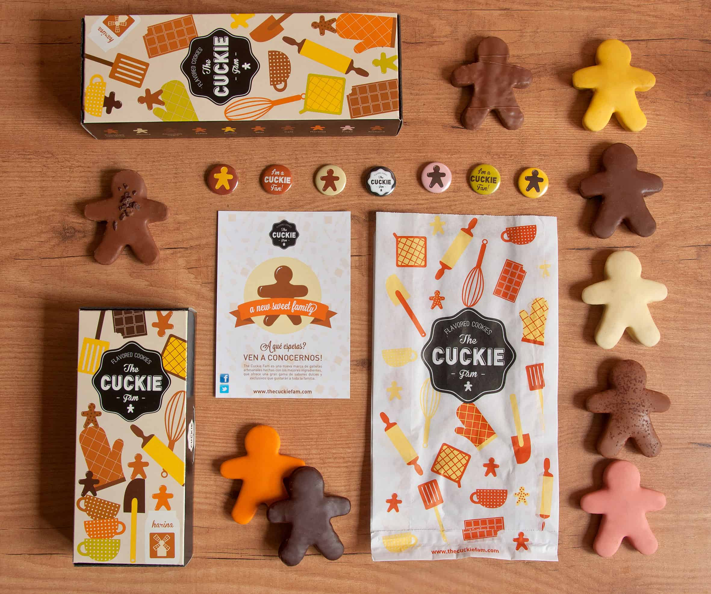 Cookies Packaging design